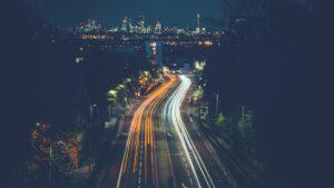 Światła nocnego miasta