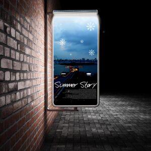 Baner reklamowy na ścianę