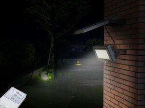 Sterowanie zdalne lampą naścienną