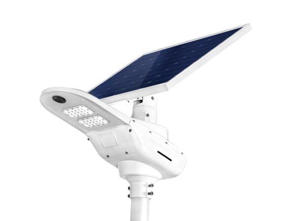 Lampa solarna z turbiną wiatrową 2
