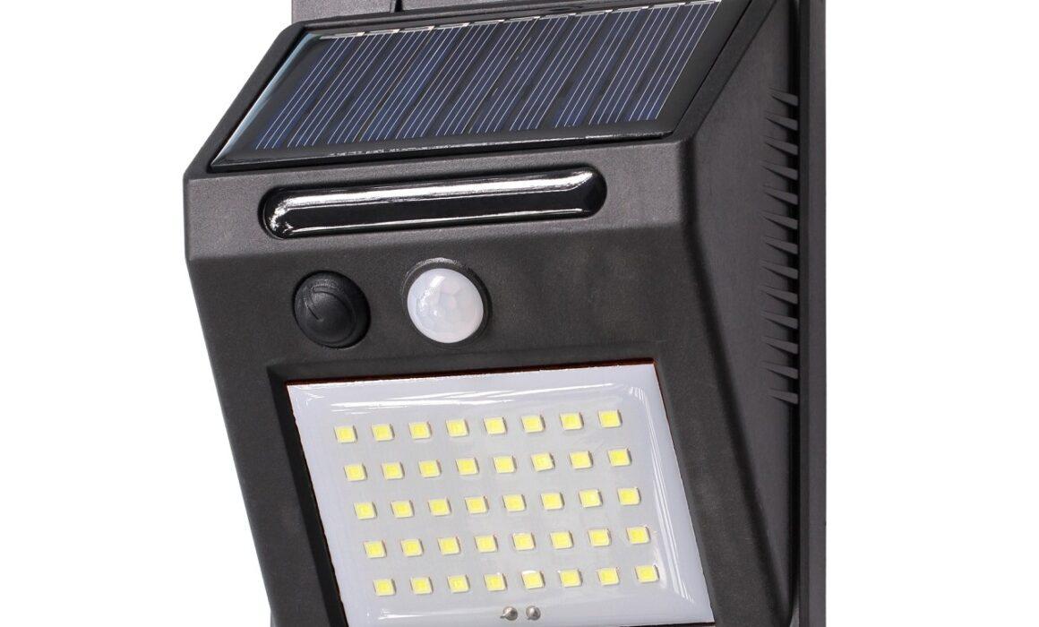 Lampy solarne z czujnikiem ruchu